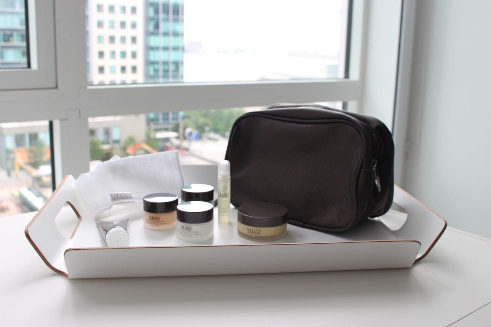 Travel Skin Care Favorites with a View from YOTEL Boston.