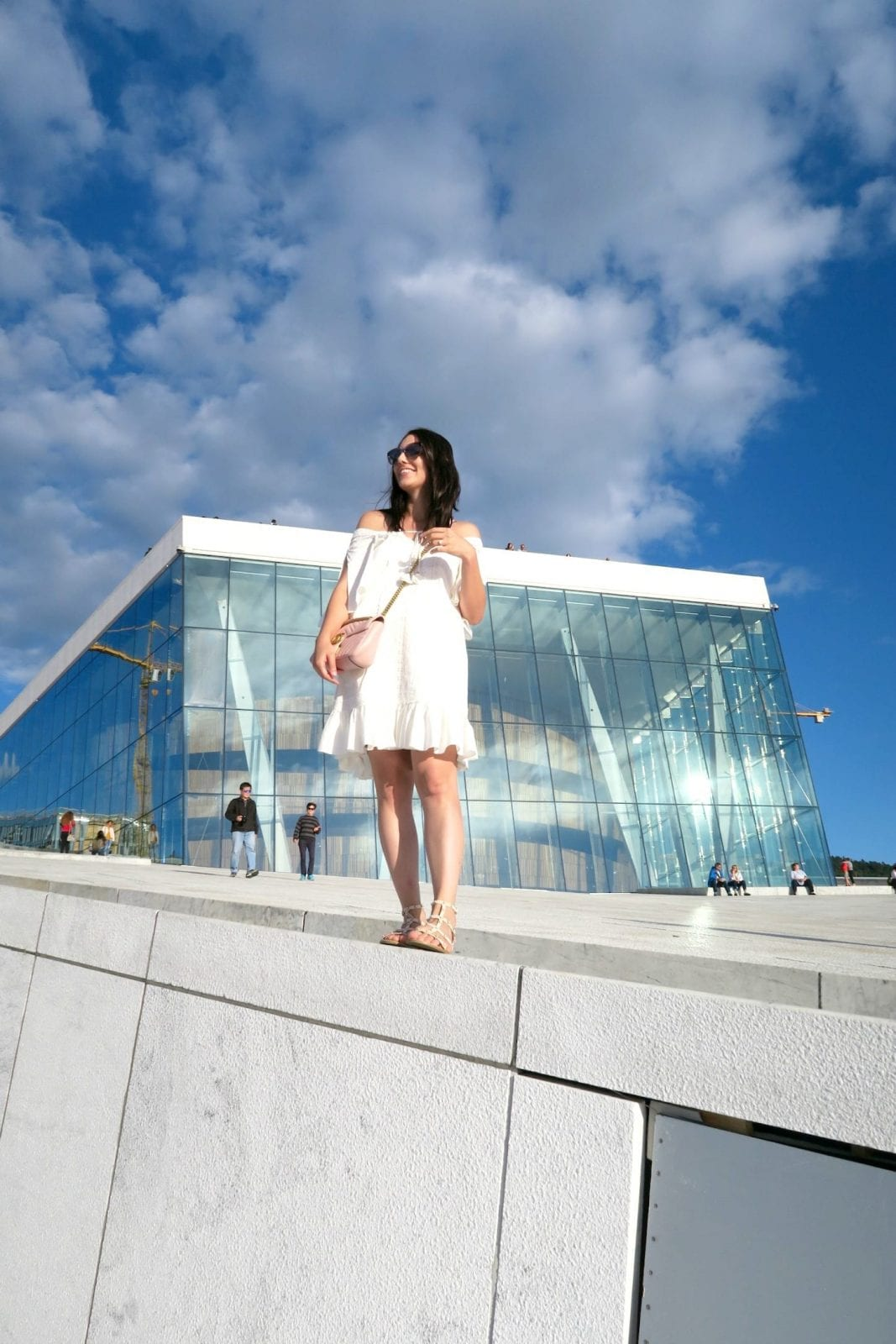 Standing Tall at the Oslo Opera House in Norway
