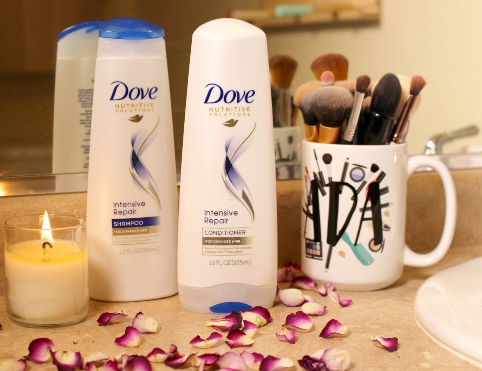 Dove Intensive Hair Care Product Review