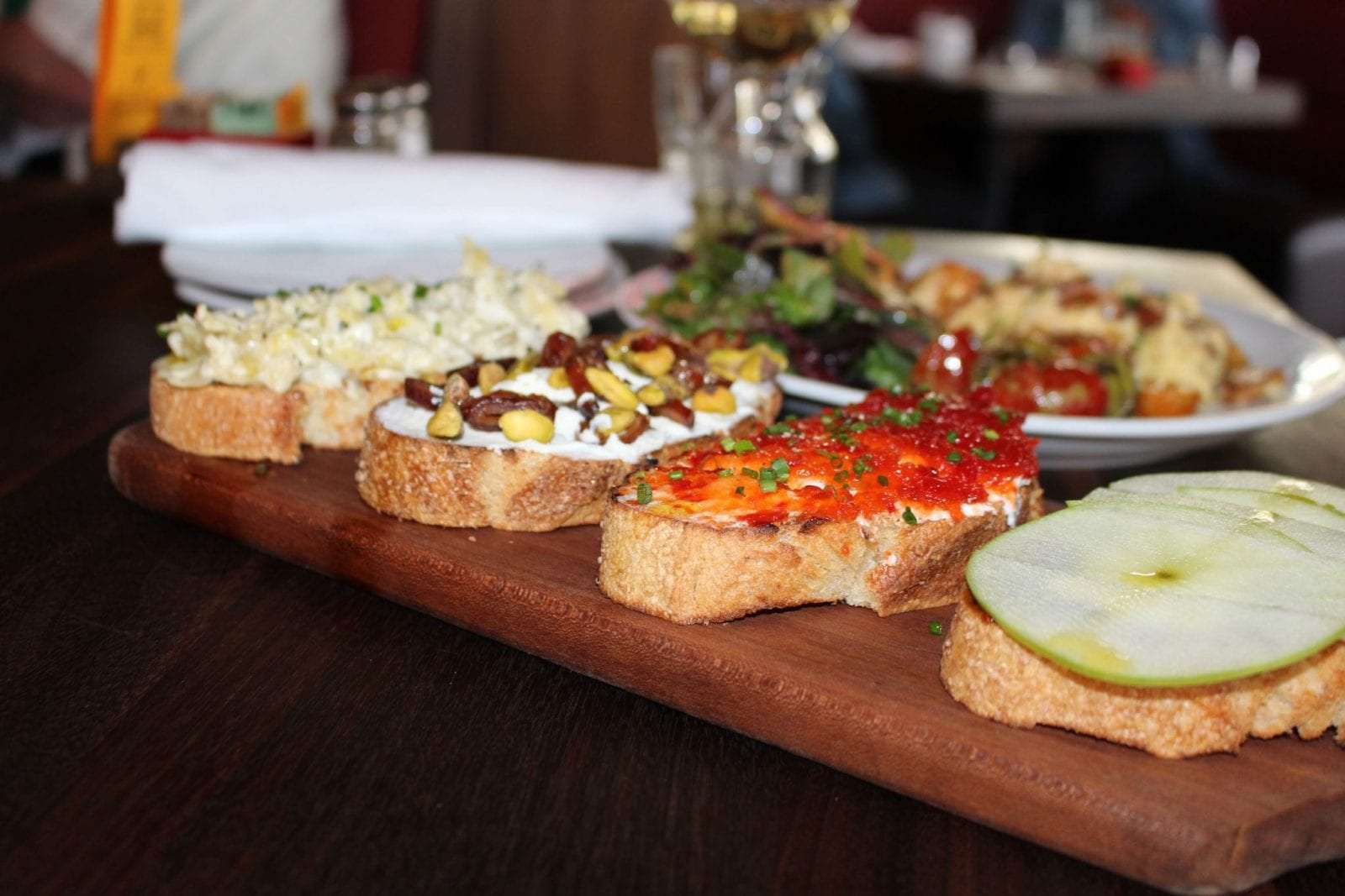 Bruschetta 4 Picks at Positano Cafe