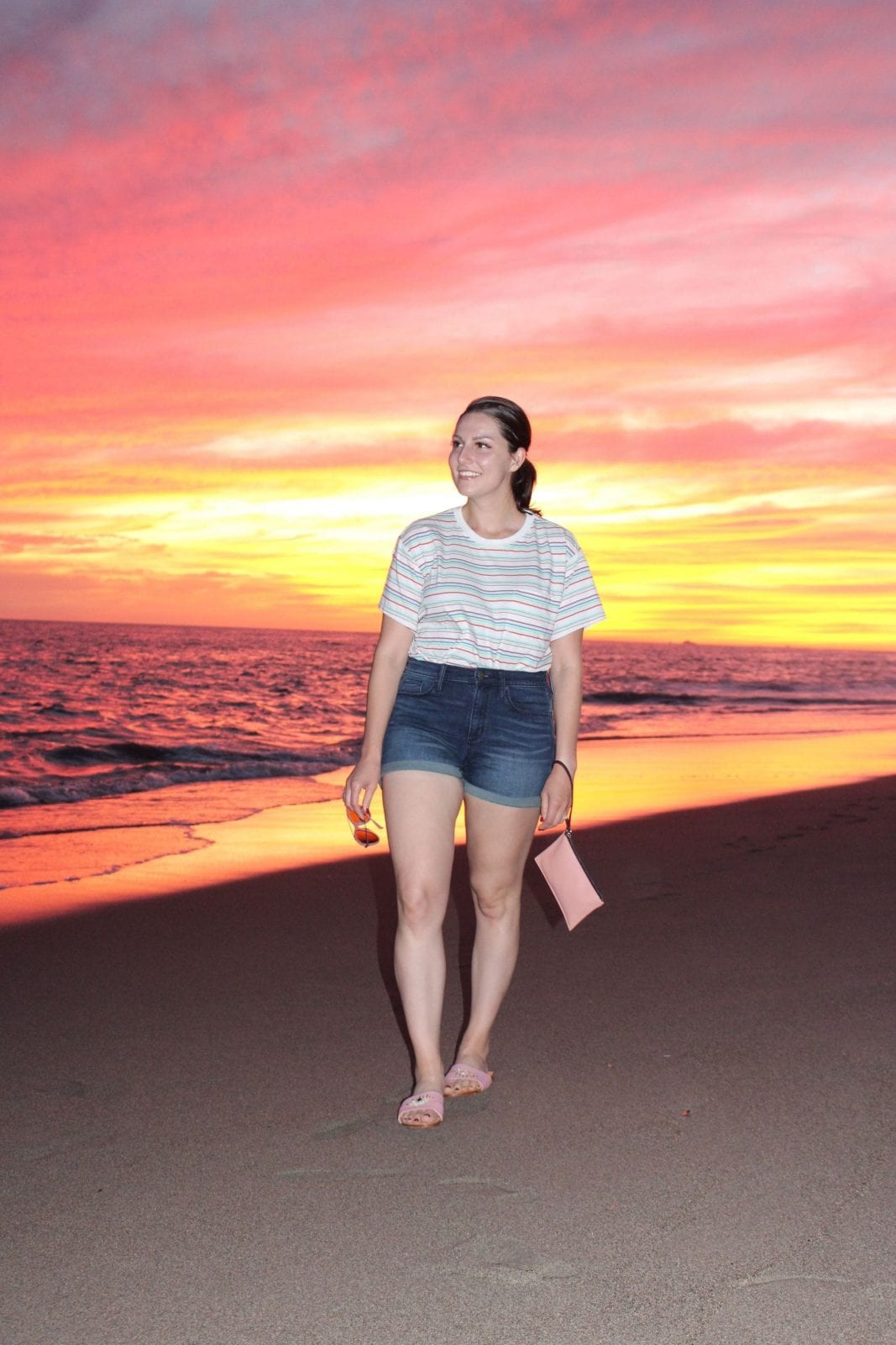 Walking Along the Beach in Puerto Vallarta