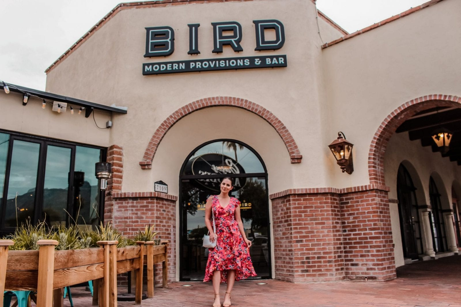 This is a full body shot of me standing outside Bird in Tucson Arizona.
