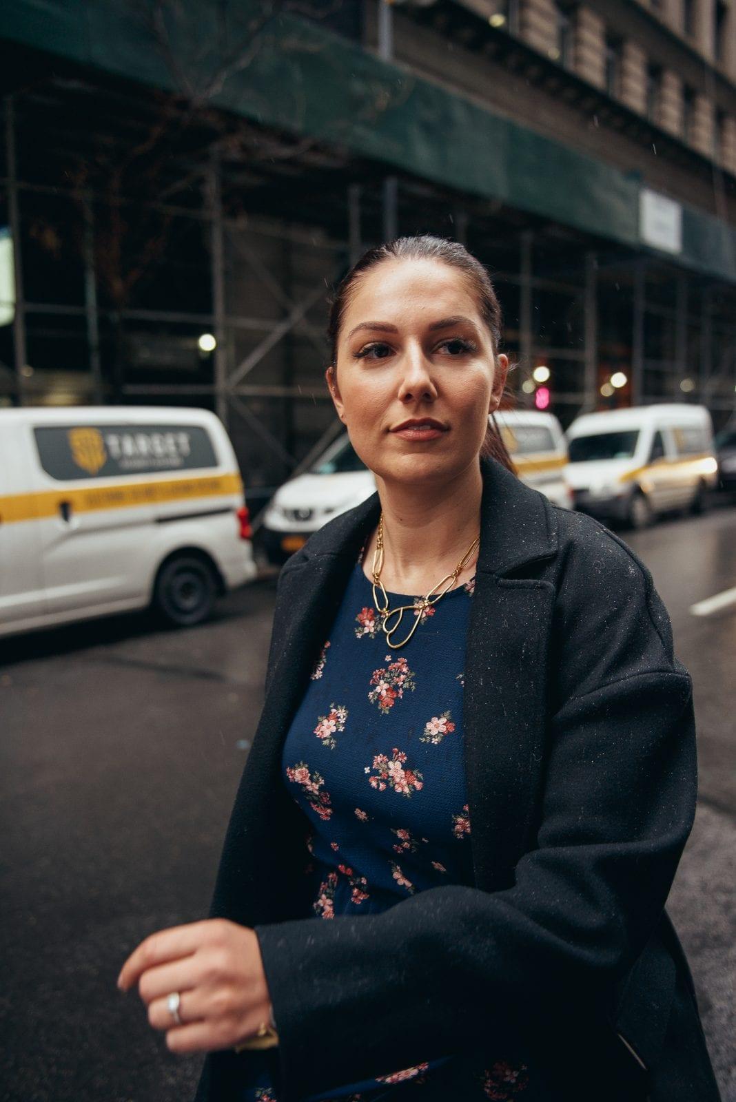 I am walking down the street in New York City, outside Innside New York.